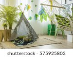 Child Room With Tent  Hammock ...