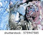 ink marble texture.marble... | Shutterstock . vector #575947585