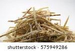 crispy taro coated with sugar... | Shutterstock . vector #575949286