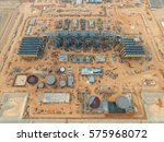 aerial view of a large combined ... | Shutterstock . vector #575968072