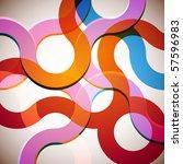 rainbow background | Shutterstock .eps vector #57596983