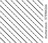 seamless black and white... | Shutterstock .eps vector #575984266