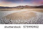 sunset over death valley | Shutterstock . vector #575990902