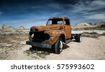Vintage Truck Abandoned Car In...
