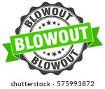 blowout. stamp. sticker. seal.... | Shutterstock .eps vector #575993872