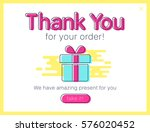 sale web pop ups  template for... | Shutterstock .eps vector #576020452