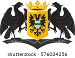 coat of arms of groningen is... | Shutterstock .eps vector #576024256