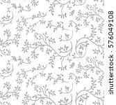 tiny flowers seamless pattern ...   Shutterstock .eps vector #576049108