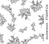 Tiny Flowers Seamless Pattern ...