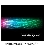abstract  background | Shutterstock .eps vector #57605611