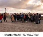 prague  czech republic  ... | Shutterstock . vector #576062752