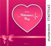 valentine's day background....   Shutterstock .eps vector #576070162