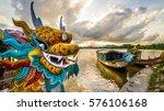 Dragon Boat In Hue  Vietnam