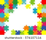 vector abstract colorful... | Shutterstock .eps vector #576107116