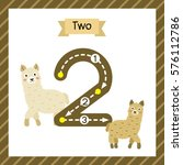 Cute Children Flashcard Number...