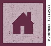 flat icon. house.