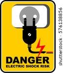 danger  electric | Shutterstock .eps vector #576138856