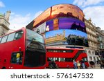 piccadilly circus london images ...   Shutterstock . vector #576147532