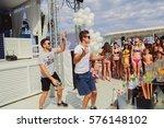 odessa  ukraine july 11  2015 ... | Shutterstock . vector #576148102