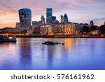 london financial district...   Shutterstock . vector #576161962