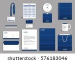 corporate identity design... | Shutterstock .eps vector #576183046