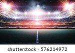 stadium 3d rendering | Shutterstock . vector #576214972