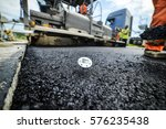 heavy duty road building. hot... | Shutterstock . vector #576235438