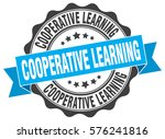 cooperative learning. stamp.... | Shutterstock .eps vector #576241816