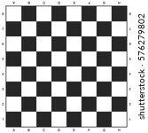 chess board  black and white... | Shutterstock .eps vector #576279802