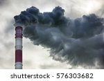 air pollution  closeup of one... | Shutterstock . vector #576303682