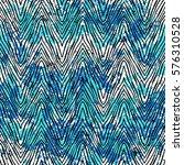 Vector Zebra Pattern Over...