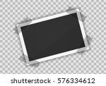 vector paper frame isolated on... | Shutterstock .eps vector #576334612