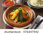 Vegetable Tajine With Rice And...