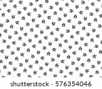 black and white ornament. h | Shutterstock . vector #576354046