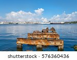 View Of The Bay Of Havana And...