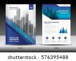 annual report brochure flyer... | Shutterstock .eps vector #576395488