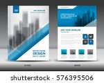annual report brochure flyer... | Shutterstock .eps vector #576395506