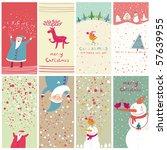 8 Cartoon Christmas Banners