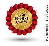 golden premium quality red best ... | Shutterstock .eps vector #576410236