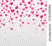 colorful background with heart... | Shutterstock .eps vector #576439096