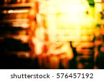 abstract city night background | Shutterstock . vector #576457192