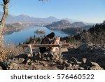 bled  slovenia   january  07 ... | Shutterstock . vector #576460522