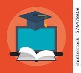 e learning education design | Shutterstock .eps vector #576478606
