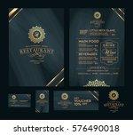 creative menu design. layout... | Shutterstock .eps vector #576490018