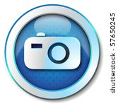 digital camera icon | Shutterstock . vector #57650245