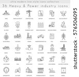 heavy and power industry ultra ... | Shutterstock . vector #576506095