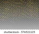 falling magic gold dust...   Shutterstock .eps vector #576521125