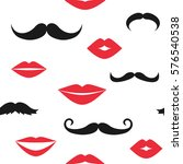 seamless vector pattern with... | Shutterstock .eps vector #576540538
