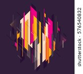 abstract style  technology... | Shutterstock .eps vector #576540832