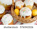 Traditional Easter Cake Kulich...